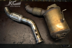 BMW 535D F10/F11 downpipe