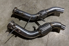 BMW X5 E70 3.0D downpipe