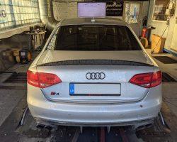 Audi S4 B8 3.0TFSI dzinēja un ātrumkārbas tunings 436HP un 523Nm