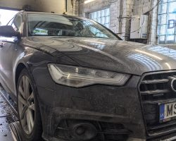 Audi A6 C7 3.0TDI 160kW (218 Zs) chiptuning.