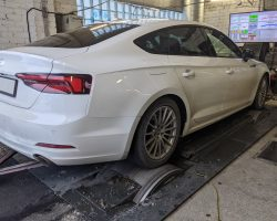 Audi A5 35TFSI 110kW (150HP) chiptuning