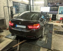 BMW 435xD chiptuning – 390 Zs un 780 Nm