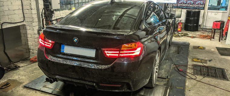BMW 435xD chiptuning – 390 Zs un 780 Nm